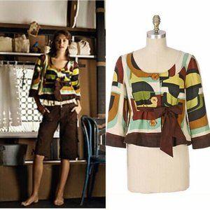 Anthropologie Clove & Cardamom Jacket Size 12